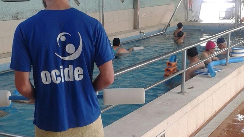 Actividad de Rehabilitación Acuática del Organismo Autónomo de Deportes del Ayuntamiento de Santa Cruz de Tenerife.