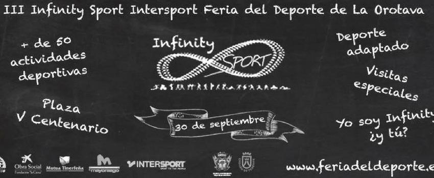 Nos vamos a la Infinity Sport @fidesports en #LaOrotava.